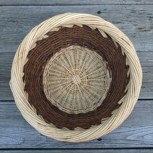 Two-tone Woven Basket